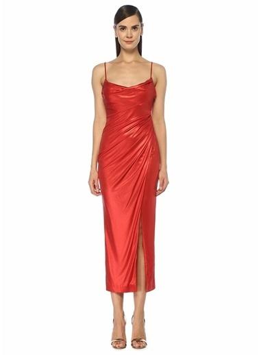 Galvan Elbise Kırmızı